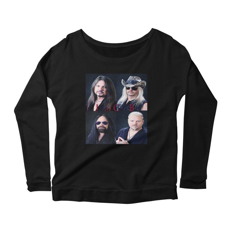 JCB Collage Women's Scoop Neck Longsleeve T-Shirt by JeffCarlsonBand's Artist Shop