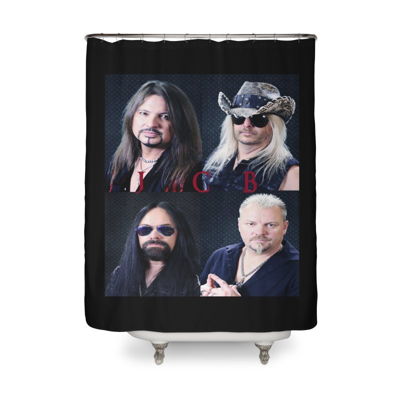 JCB Collage Home Shower Curtain by JeffCarlsonBand's Artist Shop