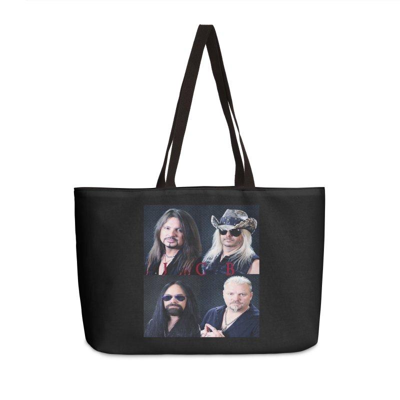 JCB Collage Accessories Weekender Bag Bag by JeffCarlsonBand's Artist Shop