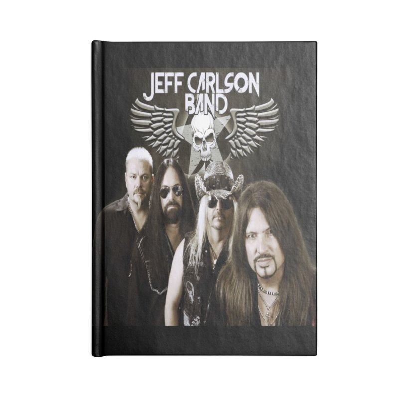 New JCB Band/Wings Accessories Lined Journal Notebook by JeffCarlsonBand's Artist Shop