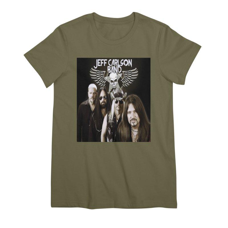 New JCB Band/Wings Women's Premium T-Shirt by JeffCarlsonBand's Artist Shop