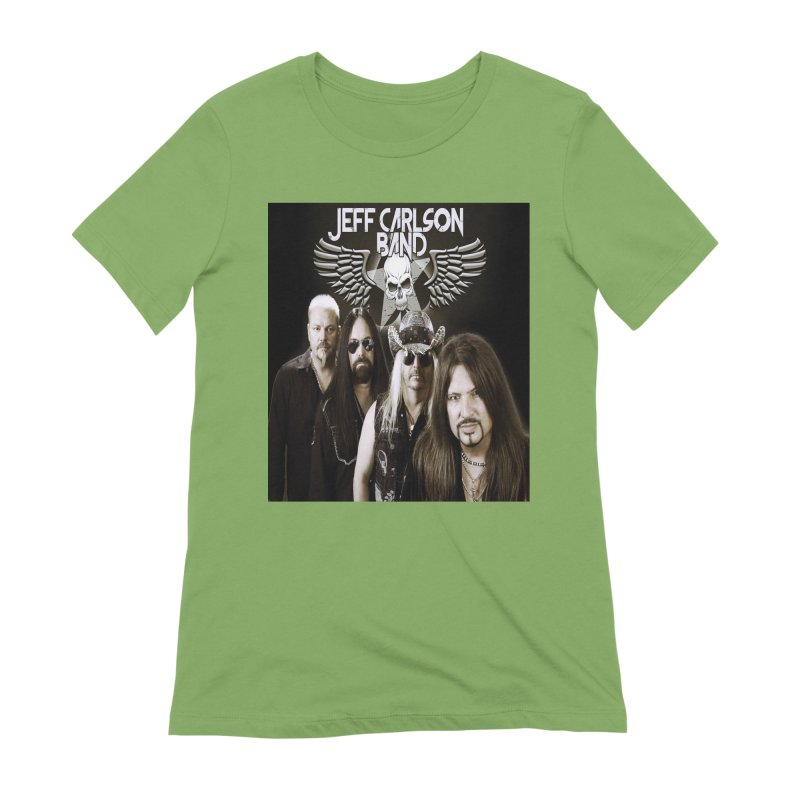 New JCB Band/Wings Women's Extra Soft T-Shirt by JeffCarlsonBand's Artist Shop