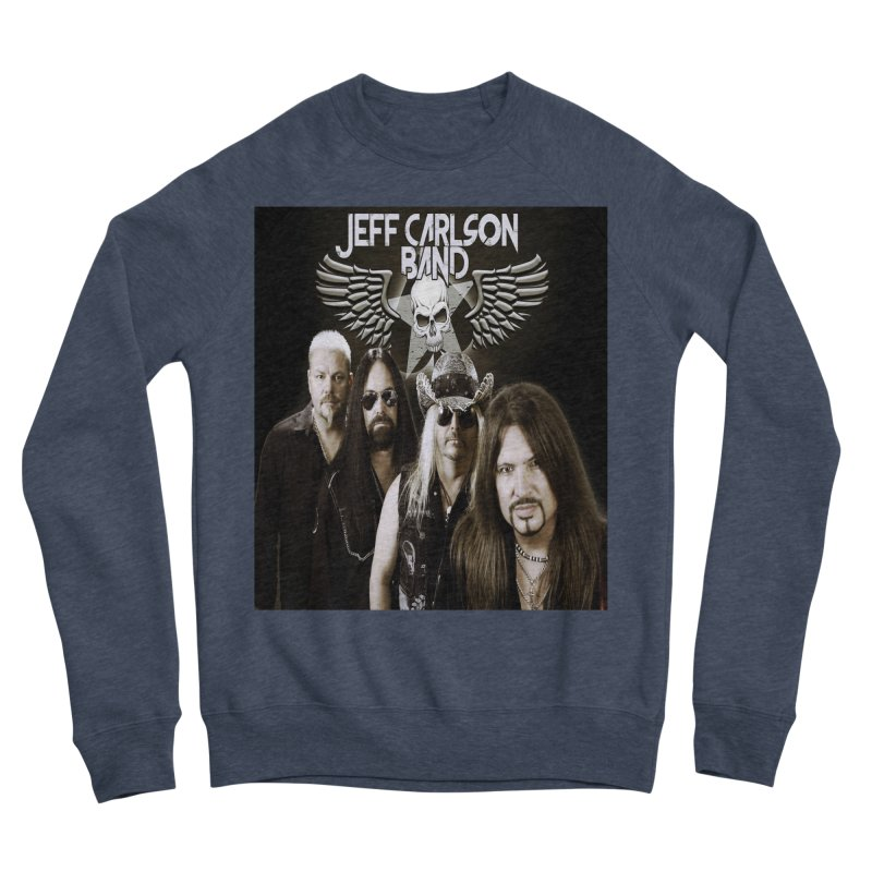 New JCB Band/Wings Men's Sponge Fleece Sweatshirt by JeffCarlsonBand's Artist Shop