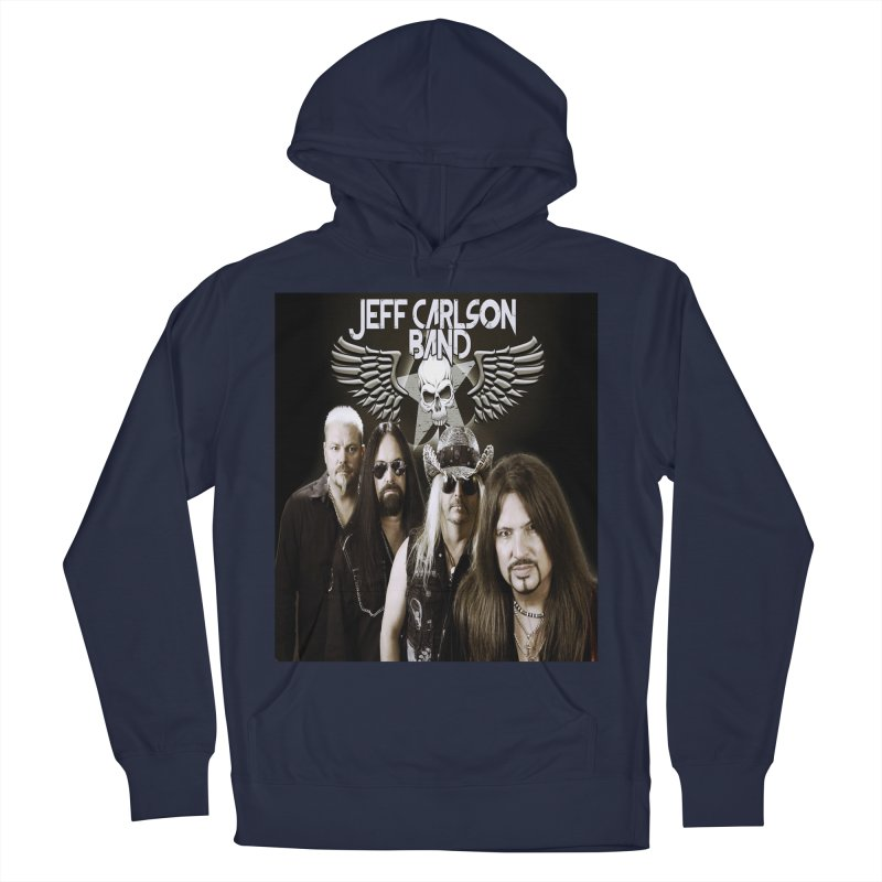 New JCB Band/Wings Women's French Terry Pullover Hoody by JeffCarlsonBand's Artist Shop