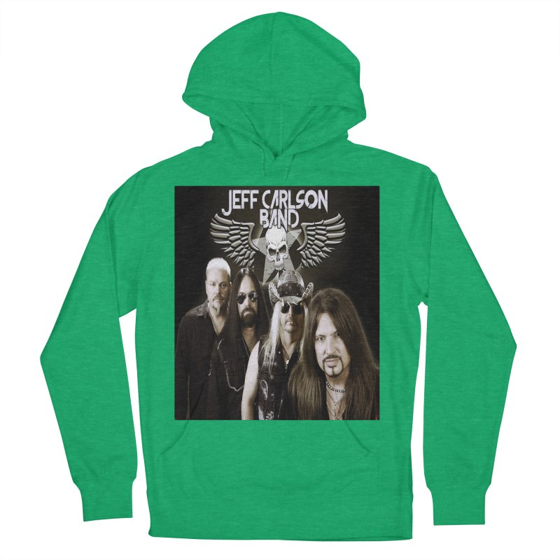 New JCB Band/Wings Men's French Terry Pullover Hoody by JeffCarlsonBand's Artist Shop