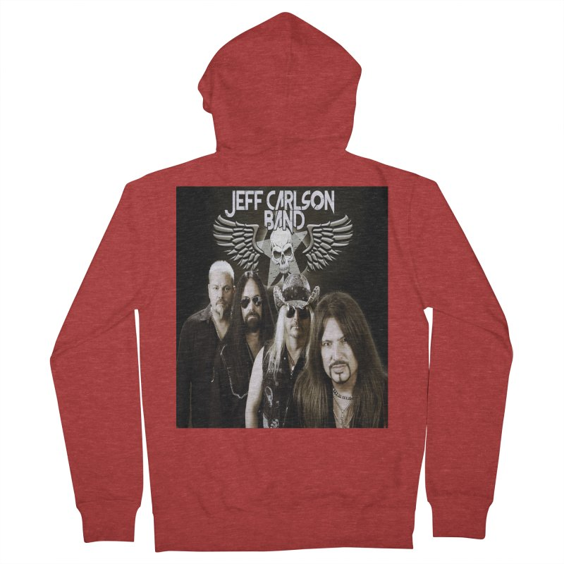 New JCB Band/Wings Women's French Terry Zip-Up Hoody by JeffCarlsonBand's Artist Shop