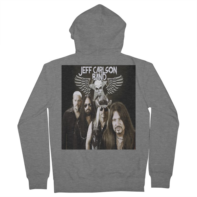 New JCB Band/Wings Men's French Terry Zip-Up Hoody by JeffCarlsonBand's Artist Shop