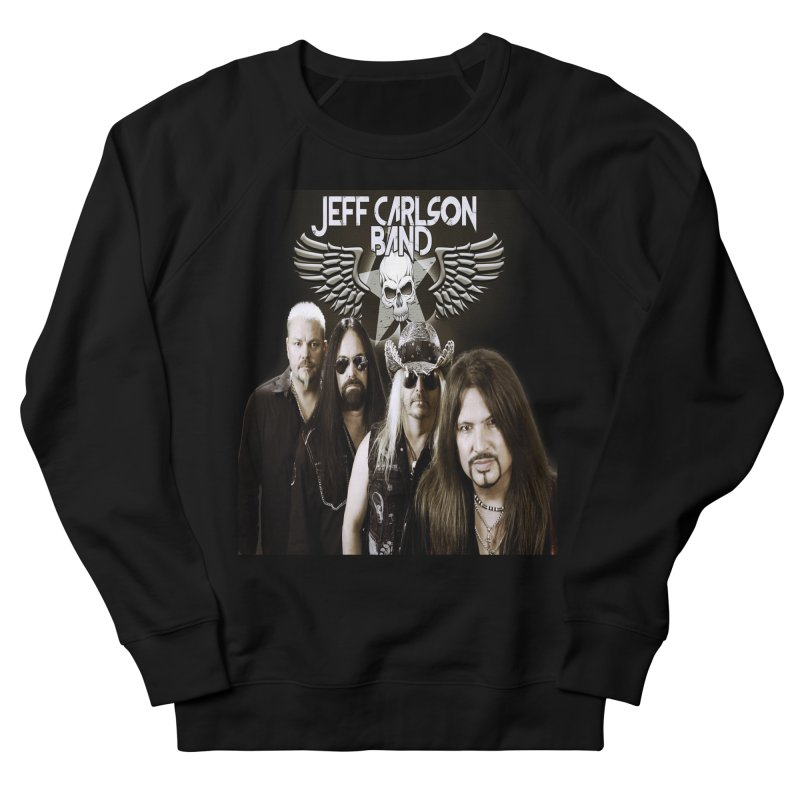 New JCB Band/Wings Men's French Terry Sweatshirt by JeffCarlsonBand's Artist Shop