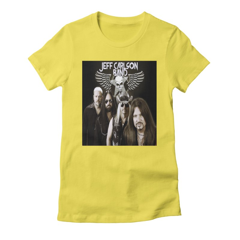 New JCB Band/Wings Women's Fitted T-Shirt by JeffCarlsonBand's Artist Shop