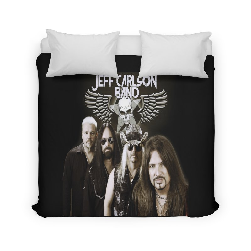 New JCB Band/Wings Home Duvet by JeffCarlsonBand's Artist Shop