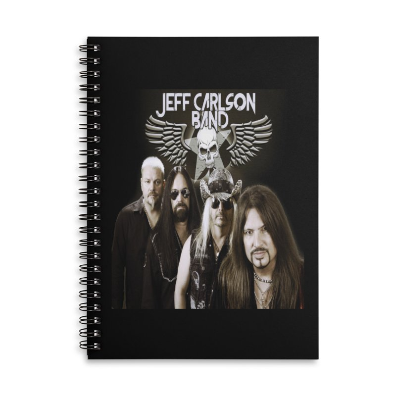 New JCB Band/Wings Accessories Lined Spiral Notebook by JeffCarlsonBand's Artist Shop