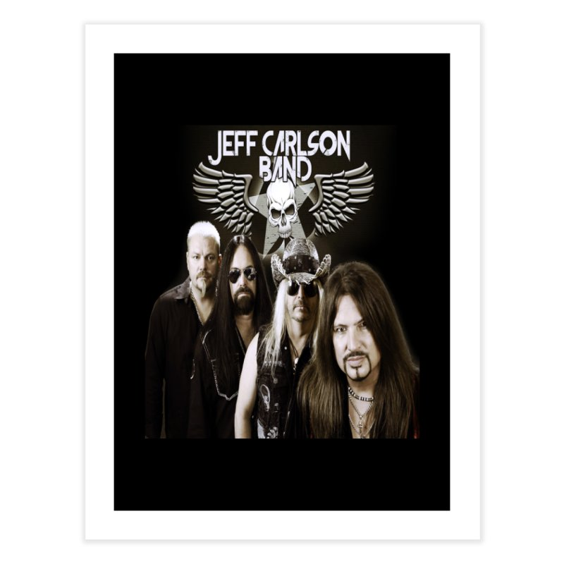 New JCB Band/Wings Home Fine Art Print by JeffCarlsonBand's Artist Shop