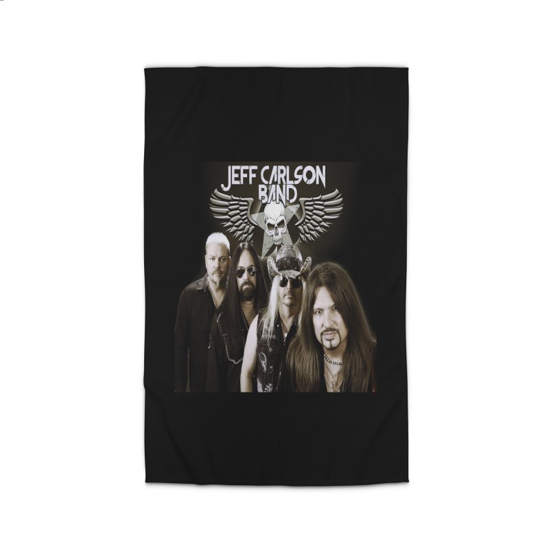 New JCB Band/Wings Home Rug by JeffCarlsonBand's Artist Shop