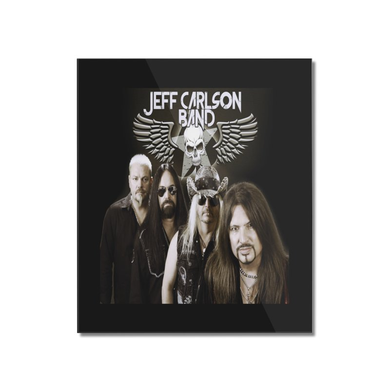 New JCB Band/Wings Home Mounted Acrylic Print by JeffCarlsonBand's Artist Shop