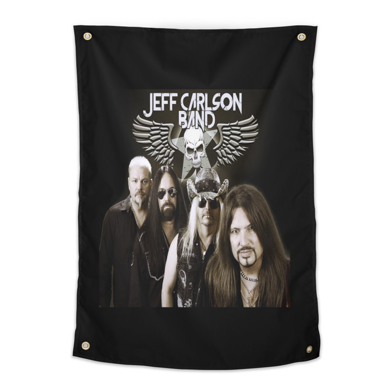 New JCB Band/Wings Home Tapestry by JeffCarlsonBand's Artist Shop