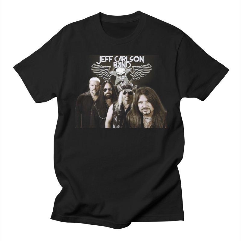 JCB Band/logo Men's T-Shirt by JeffCarlsonBand's Artist Shop