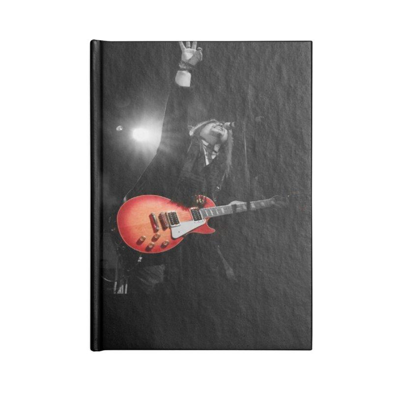 Jeff Carlson Live shot Accessories Lined Journal Notebook by JeffCarlsonBand's Artist Shop