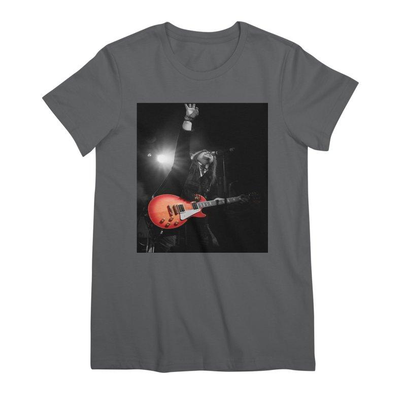 Jeff Carlson Live shot Women's Premium T-Shirt by JeffCarlsonBand's Artist Shop