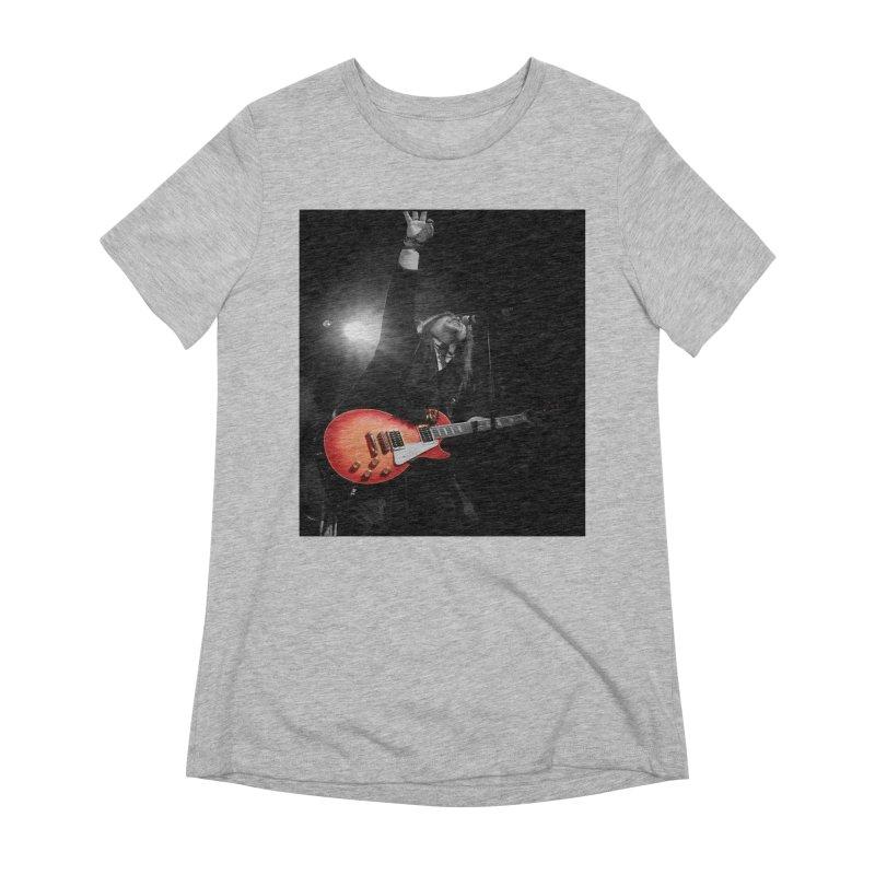 Jeff Carlson Live shot Women's Extra Soft T-Shirt by JeffCarlsonBand's Artist Shop