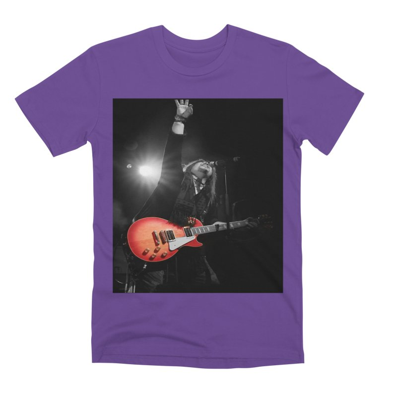 Jeff Carlson Live shot Men's Premium T-Shirt by JeffCarlsonBand's Artist Shop