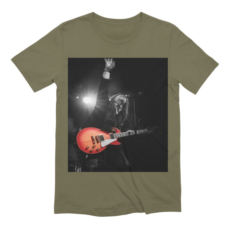 Jeff Carlson Live shot Men's Extra Soft T-Shirt by JeffCarlsonBand's Artist Shop