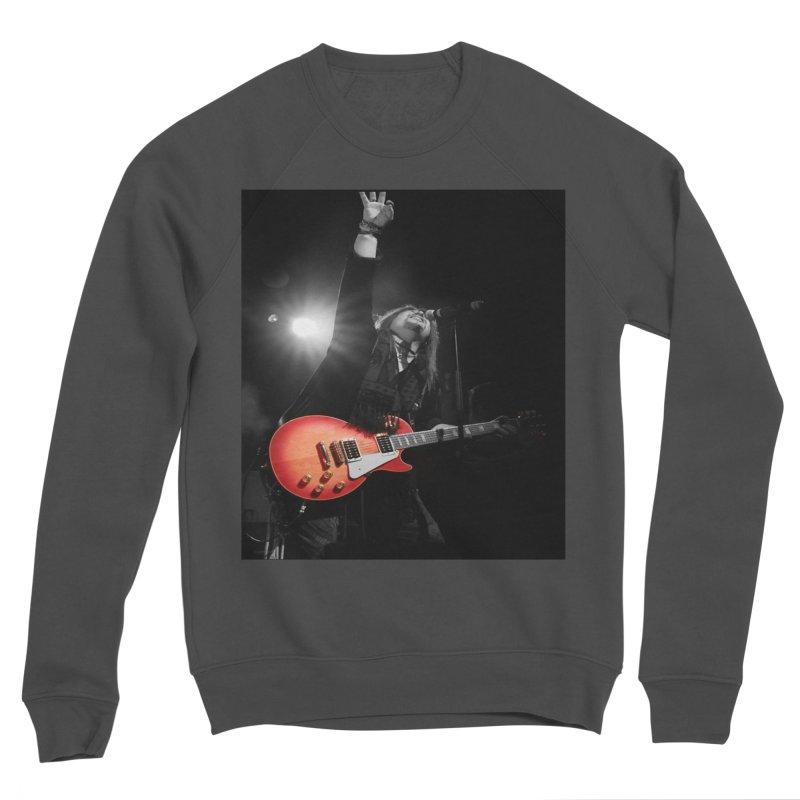 Jeff Carlson Live shot Men's Sponge Fleece Sweatshirt by JeffCarlsonBand's Artist Shop