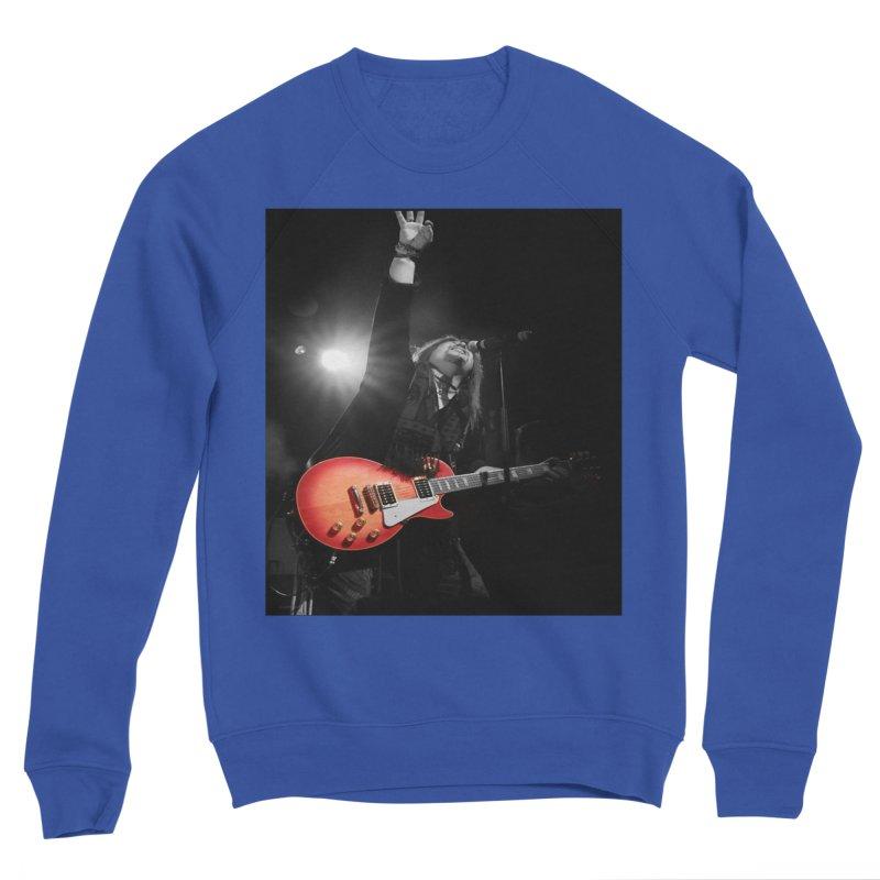 Jeff Carlson Live shot Women's Sponge Fleece Sweatshirt by JeffCarlsonBand's Artist Shop