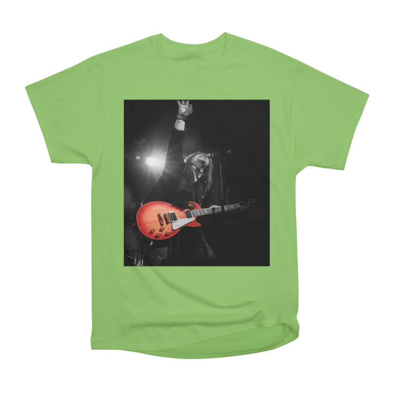 Jeff Carlson Live shot Women's Heavyweight Unisex T-Shirt by JeffCarlsonBand's Artist Shop