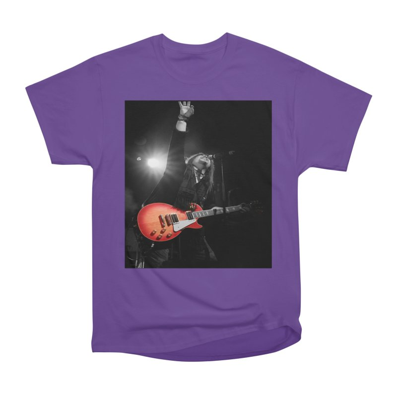 Jeff Carlson Live shot Men's Heavyweight T-Shirt by JeffCarlsonBand's Artist Shop