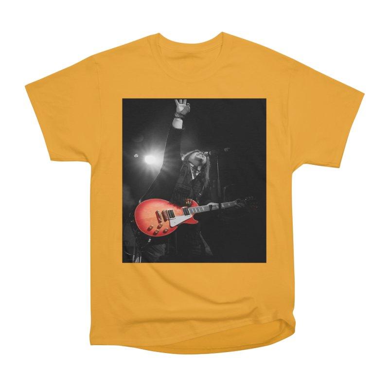 Jeff Carlson Live shot Women's Heavyweight Unisex T-Shirt by JeffCarlsonBand's Artist Shop