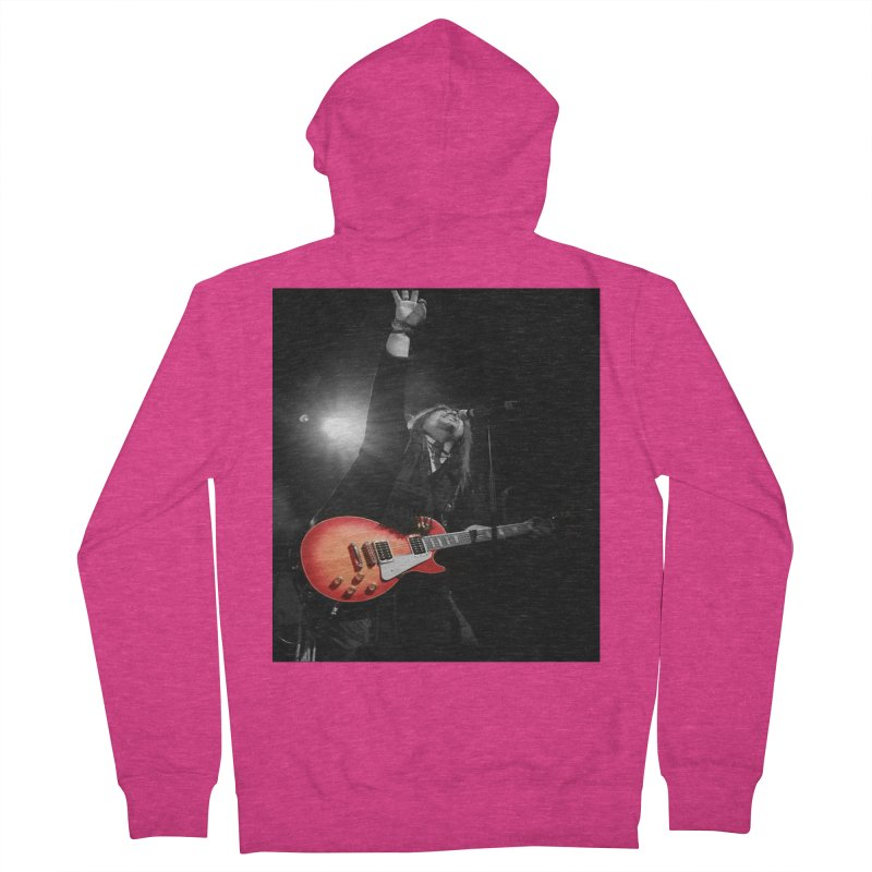 Jeff Carlson Live shot Women's French Terry Zip-Up Hoody by JeffCarlsonBand's Artist Shop