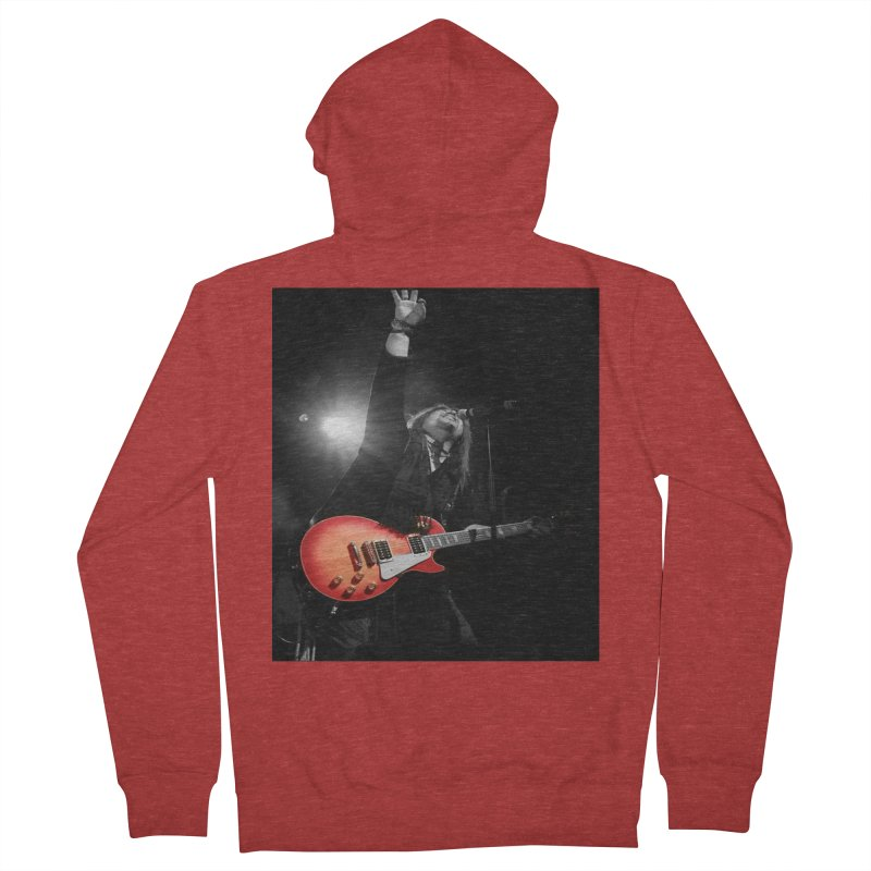 Jeff Carlson Live shot Men's French Terry Zip-Up Hoody by JeffCarlsonBand's Artist Shop