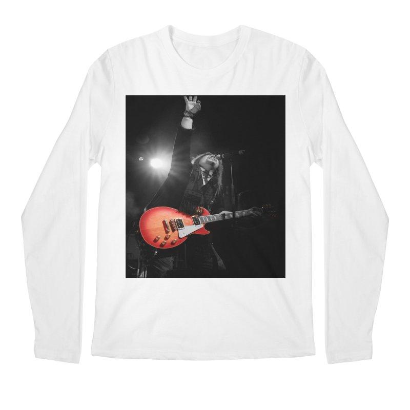 Jeff Carlson Live shot Men's Regular Longsleeve T-Shirt by JeffCarlsonBand's Artist Shop