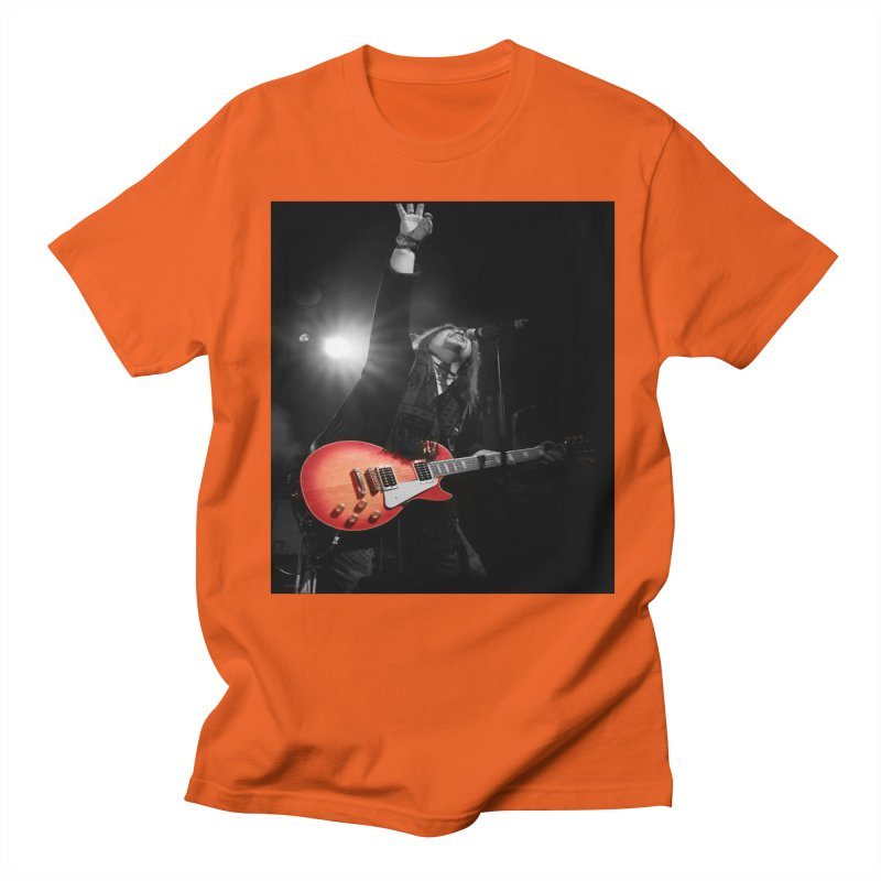 Jeff Carlson Live shot Men's Regular T-Shirt by JeffCarlsonBand's Artist Shop
