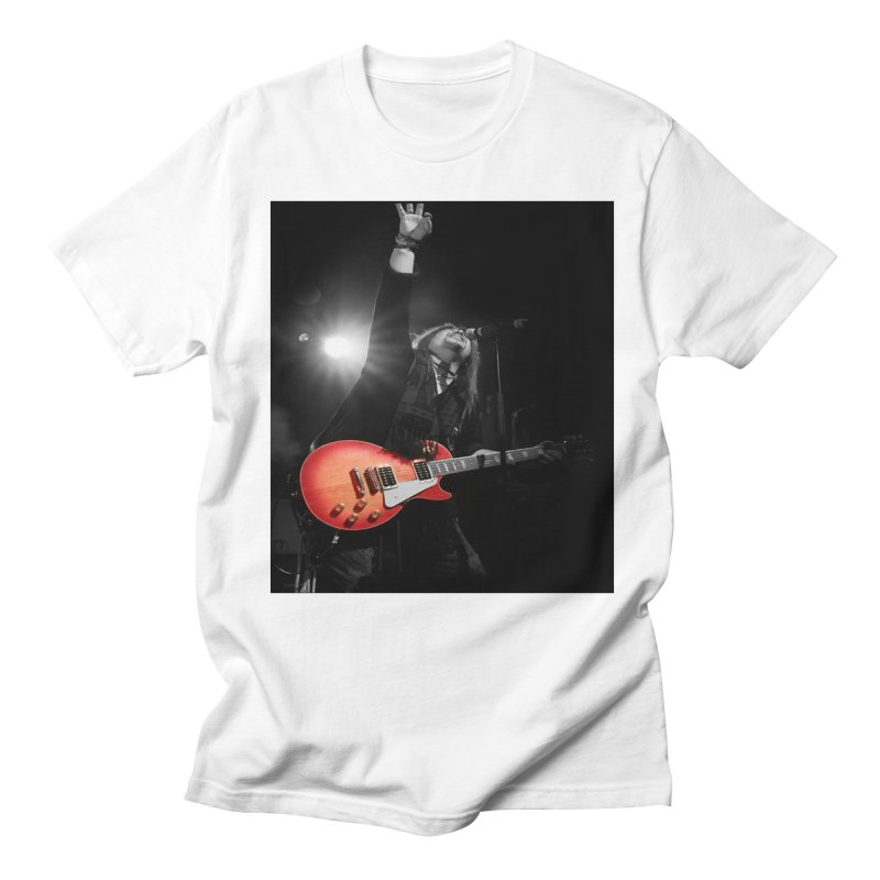 Jeff Carlson Live shot Men's Regular T-Shirt by JeffCarlsonBand's Artist Shop