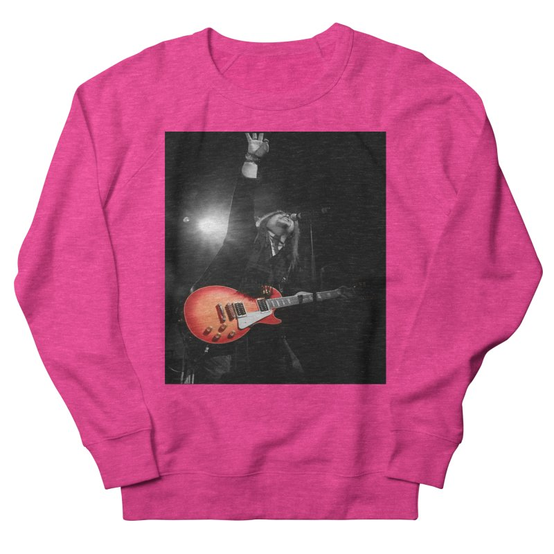 Jeff Carlson Live shot Women's French Terry Sweatshirt by JeffCarlsonBand's Artist Shop