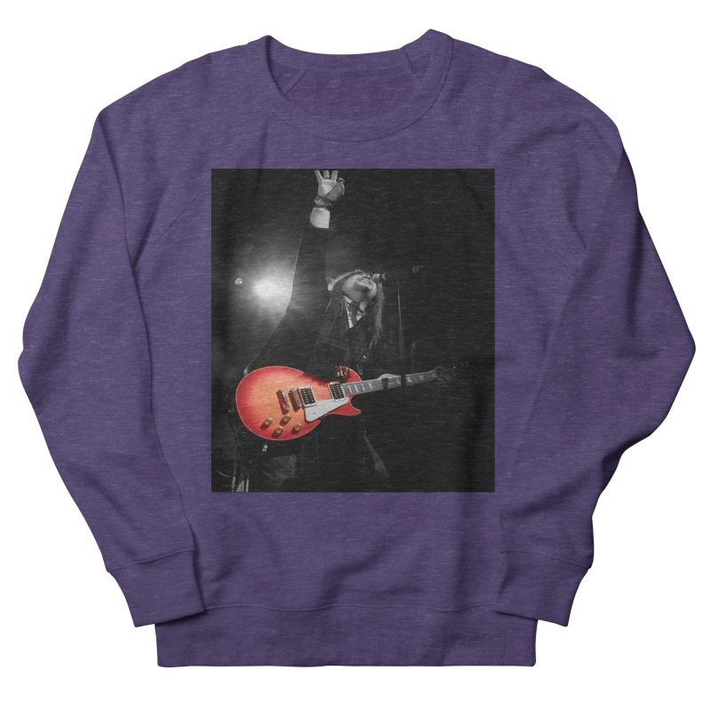 Jeff Carlson Live shot Men's French Terry Sweatshirt by JeffCarlsonBand's Artist Shop
