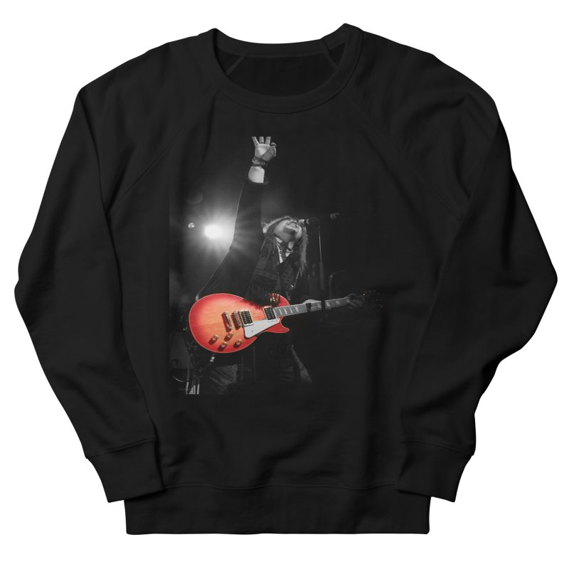 Jeff Carlson Live shot Men's French Terry Sweatshirt by JeffCarlsonBand's Artist Shop