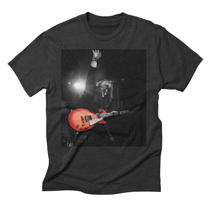 Jeff Carlson Live shot Men's Triblend T-Shirt by JeffCarlsonBand's Artist Shop