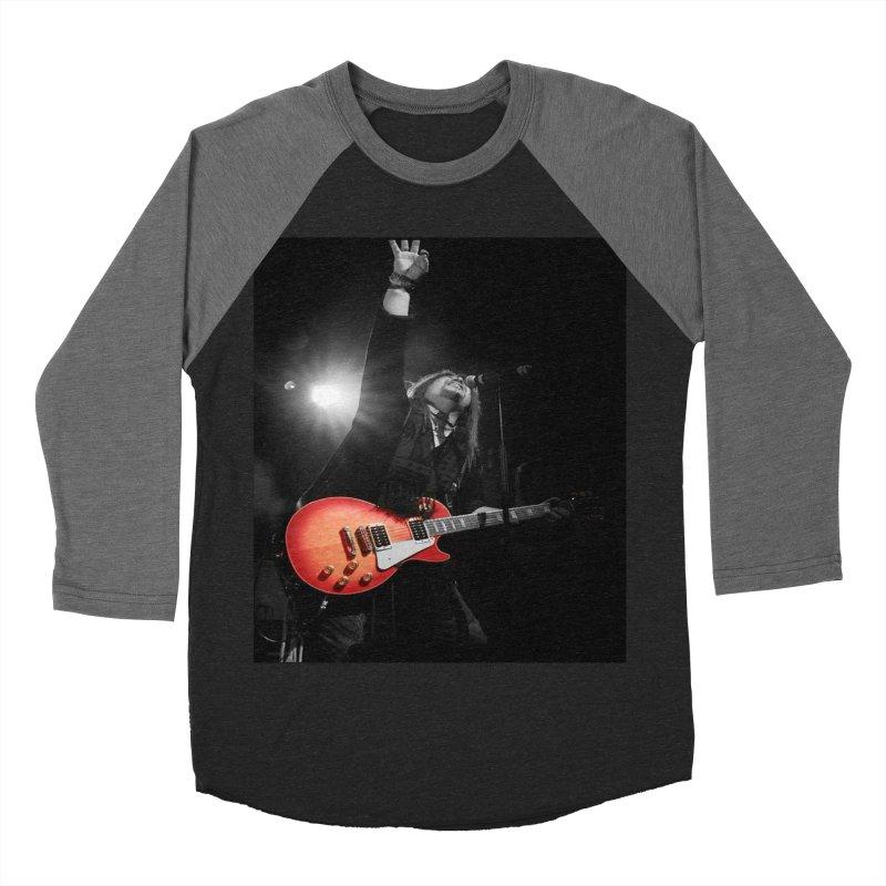 Jeff Carlson Live shot Women's Baseball Triblend Longsleeve T-Shirt by JeffCarlsonBand's Artist Shop