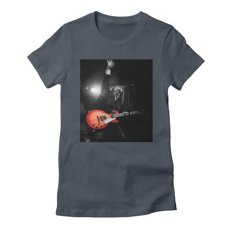 Jeff Carlson Live shot Women's T-Shirt by JeffCarlsonBand's Artist Shop