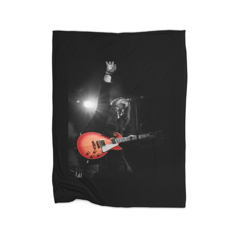Jeff Carlson Live shot Home Blanket by JeffCarlsonBand's Artist Shop