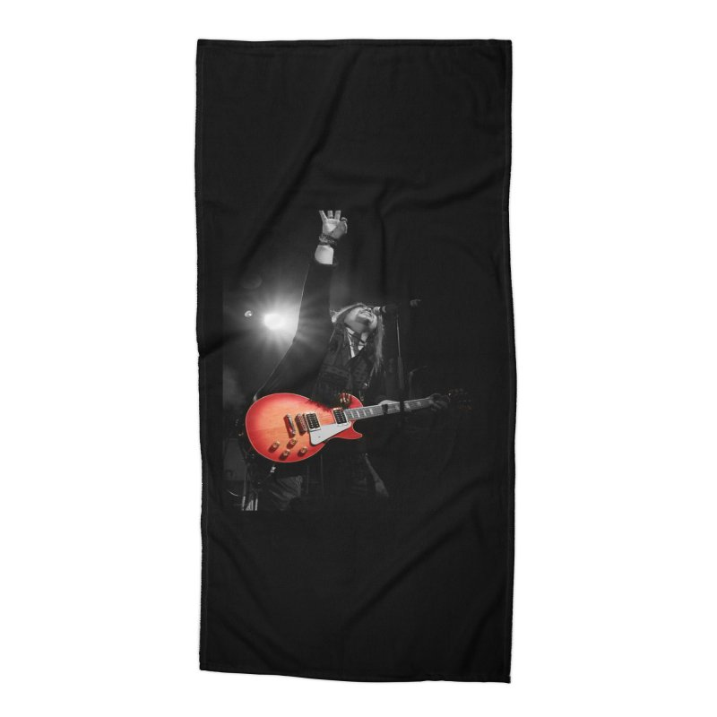 Jeff Carlson Live shot Accessories Beach Towel by JeffCarlsonBand's Artist Shop