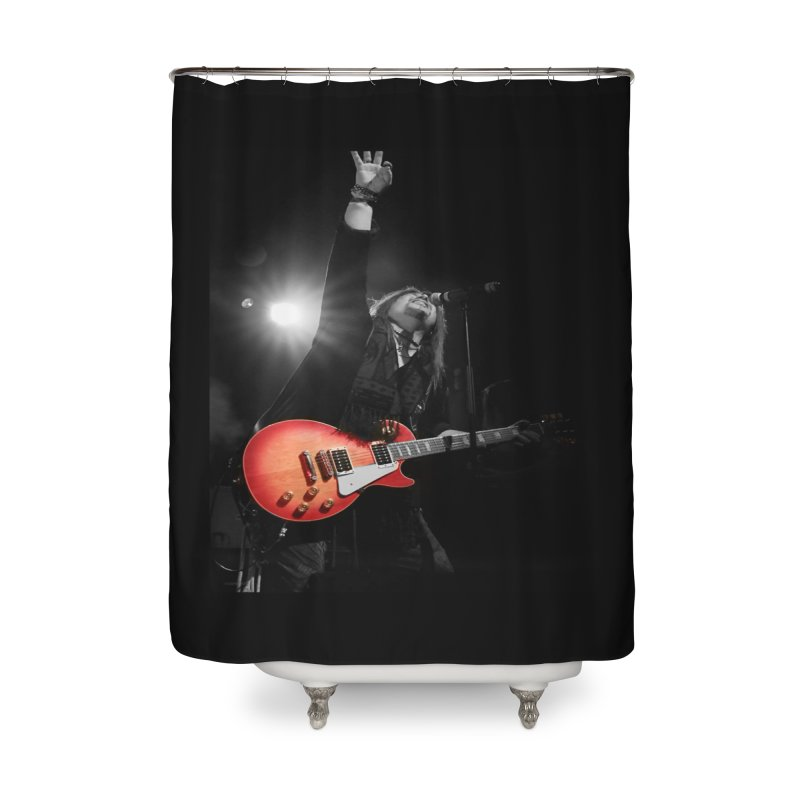 Jeff Carlson Live shot Home Shower Curtain by JeffCarlsonBand's Artist Shop