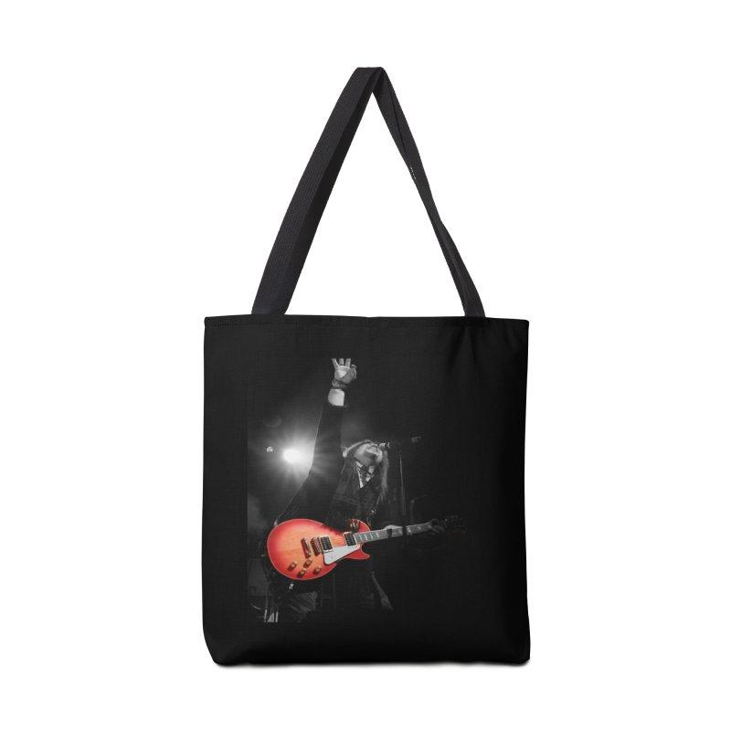 Jeff Carlson Live shot Accessories Tote Bag Bag by JeffCarlsonBand's Artist Shop
