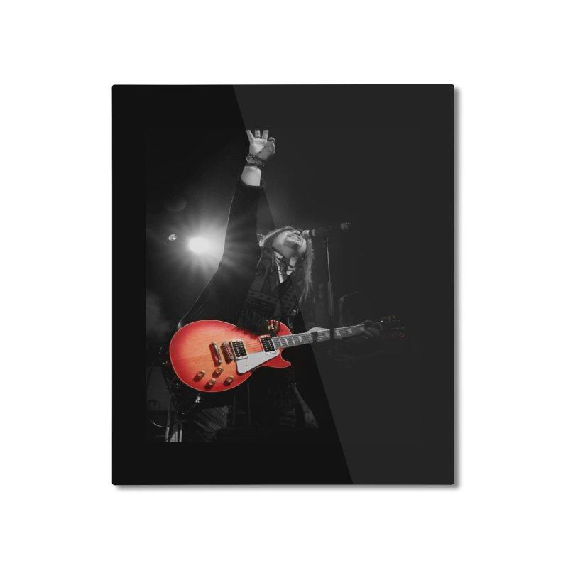 Jeff Carlson Live shot Home Mounted Aluminum Print by JeffCarlsonBand's Artist Shop