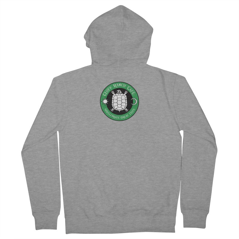 Cluff Ranch Cafe Women's Zip-Up Hoody by