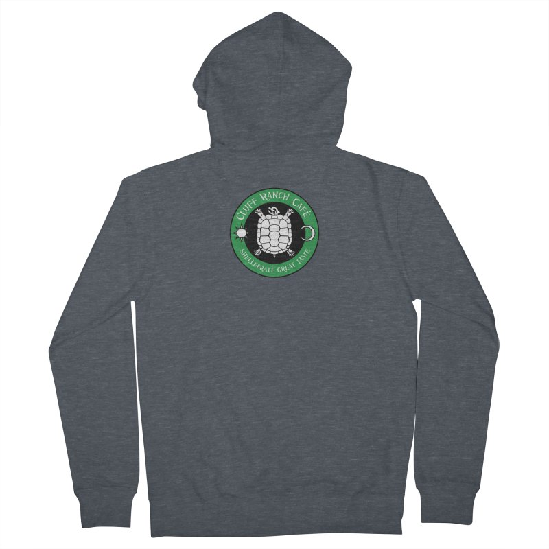 Cluff Ranch Cafe Women's French Terry Zip-Up Hoody by