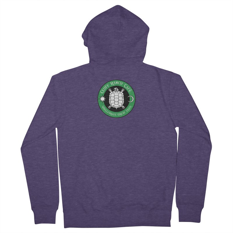 Cluff Ranch Cafe Men's French Terry Zip-Up Hoody by