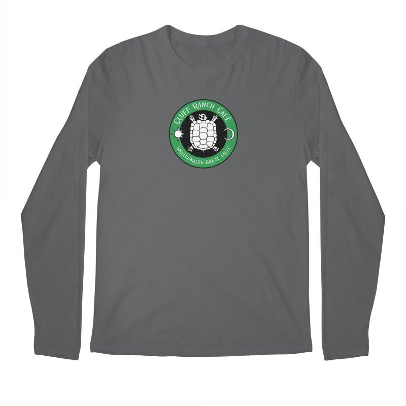 Cluff Ranch Cafe Men's Regular Longsleeve T-Shirt by
